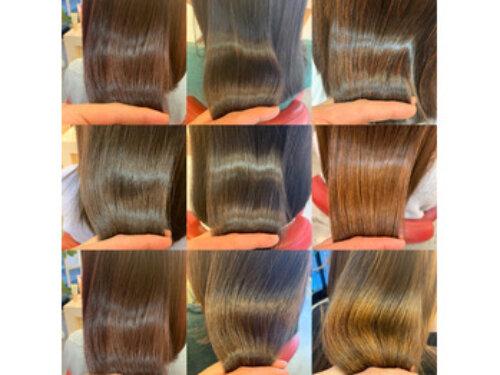毎日、キレイな「 艶髪 」が量産されています!